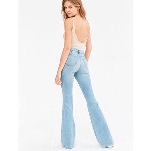 BDG High Waisted Bell Bottom Flare Jeans